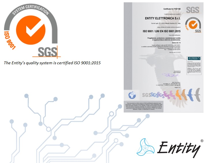 QUALITY SYSTEM CERTIFIED ISO 9001:2015