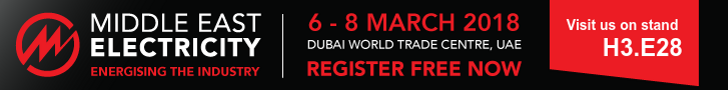 MIDDLE EAST ELECTRICITY, 6-8 MARCH (DUBAI)